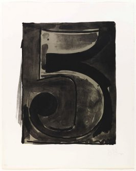 Figure 5, from the Black Numeral Series