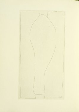 Untitled, illustration 10, in the book Foirades / Fizzles by Samuel Beckett (London and New York: Petersburg Press S. A., 1975-76)