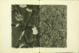 Untitled, illustration 11, in the book Foirades / Fizzles by Samuel Beckett (London and New York: Petersburg Press S. A., 1975-76)