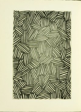 Untitled, illustration 13, in the book Foirades / Fizzles by Samuel Beckett (London and New York: Petersburg Press S. A., 1975-76)