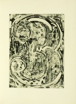 Untitled, illustration 17, in the book Foirades / Fizzles by Samuel Beckett (London and New York: Petersburg Press S. A., 1975-76)