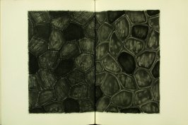 Untitled, illustration 24, in the book Foirades / Fizzles by Samuel Beckett (London and New York: Petersburg Press S. A., 1975-76)