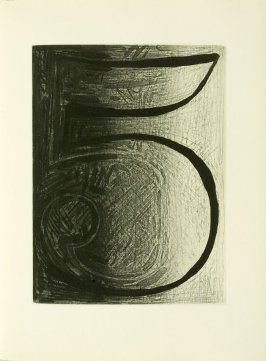 Untitled, illustration 28, in the book Foirades / Fizzles by Samuel Beckett (London and New York: Petersburg Press S. A., 1975-76)