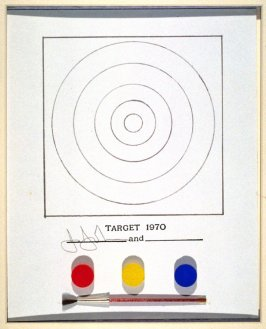 Target, encased with the exhibtion catalogue Technics and Creativity: Gemini G.E.L. (New York: Museum of Modern Art, 1971)