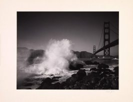 The Golden Gate from the portfolio commemorating the Tenth Anniversary of the Founding of the United Nations