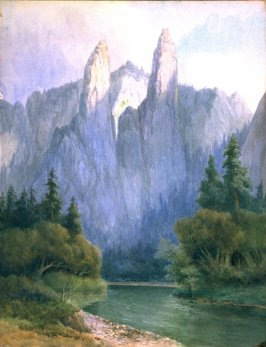 Cathedral Spires, Yosemite Valley