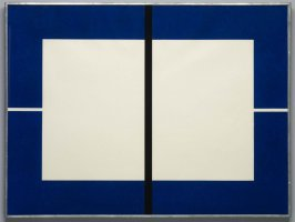 Untitled (ultramarine blue)
