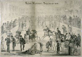 Political Arena in 1866, styled Grand Municipal Tourn'em-out