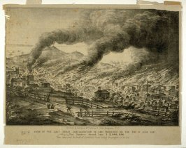 View of the Last Great Conflagration in San Francisco on the 22nd of June 1851
