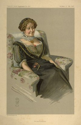 The Lady Dorothy Nevill, Woman of the Day, from Vanity Fair Supplement No. 2297