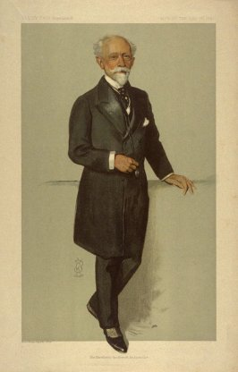 His Excellency the French Ambassador, Men of the Day No. 2292, from Vanity Fair Supplement