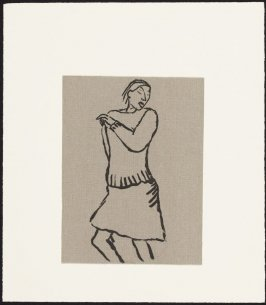 "Woman Dancing from Portfolio ""Mostly"""