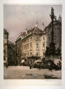 Vienna, the Old Court - 1911