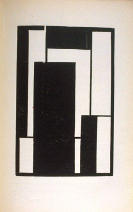 Untitled Abstract Illustration, pg. 57, in the book Ma Buch (Berlin: Verlag der Sturm, 1923)