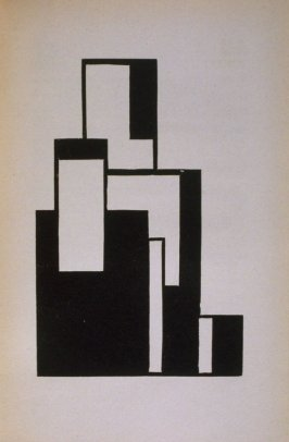 Untitled Abstract Illustration, pg. 27, in the book Ma Buch (Berlin: Verlag der Sturm, 1923)
