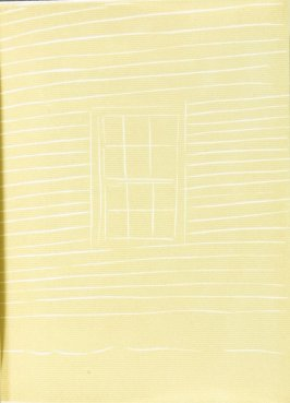 Illustration opposite The Times, ninth poem in the book A Tremor in the Morning by Vincent Katz (New York: Peter Blum Edition, 1986)