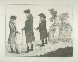 Major Fraser (d. 1795); Hon. Andrew Erskine (d. 1793); Sir John Whitefoord (d. 1803); Miss Burns, Meg Murray