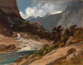 Hetch Hetchy Side Canyon, I