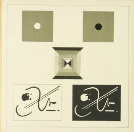 Untitled, Plate VI, pg. 97, in the book Staatliches Bauhaus Weimar, 1919 - 1923 by Walter Gropius (Munich: Bauhausverlag, 1923)
