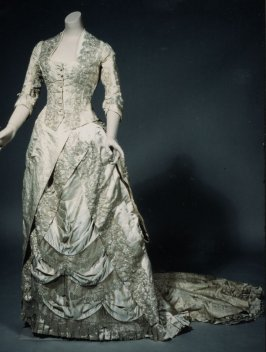 Skirt from evening dress (with bodice-a)