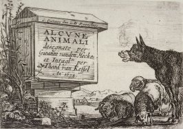 [Title page from] Series of Six Etchings of Animals