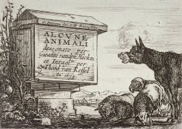 [Title Page from] Set of Six Animals