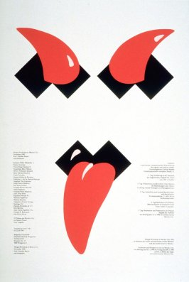 Design - Workshop in Mexico City 1990 im Rahmen der Ersten Internationalen Plakat