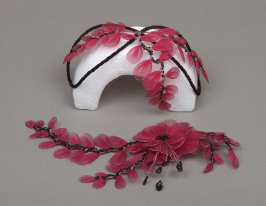 Woman's headband and corsage