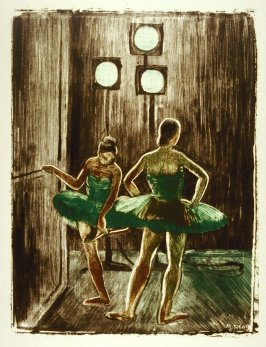 In the Wings (Two Dancers)