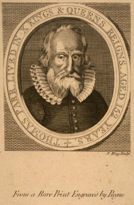 Thomas Parr, aged 152 years