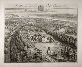 Knole, the Seat of Tho. Chester Esquire, illustration to the second volume of the series 'Britannia Illustrata'