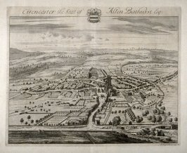Cirencester, the Seat of Allen Bathhurst Esq.