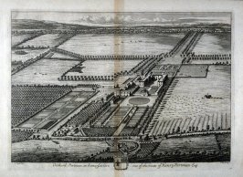 Plate 76: Orchard Portman in Somersetshire one of the Seats of Henry Portman Esqr, illustration to the series 'Britannia Illustrata'