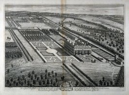 Plate 45: Hamstead Marshall in the County of Bercks. one of the Seats of the Right Honorable William Lord Craven,