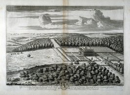 Plate 38: Up Parke in Sussex, the Seat of the Right Honorable Ford ,Lord Grey, Baron of Werke, etc., illustration to the series 'Britannia Illustrata'