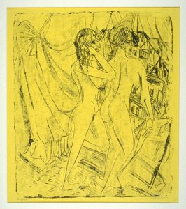 Zwei Akte am Fenster (Two Nudes at the Window)