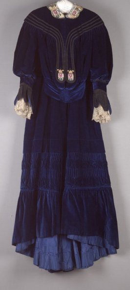 Afternoon dress(bodice and skirt)