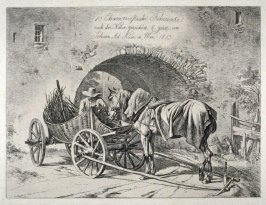 Title page - Zehn Characteristische Fuhrwerke / Ten Caracteristic Wagons (drawn from life and etched by Johann Ad. Klein in Vienna 1813)