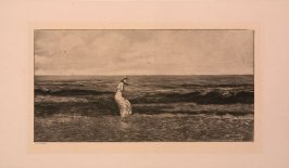 Untitled (Woman at shore)