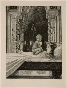 Tote Mutter (Dead Mother), plate 10 from Vom Tode, Zweiter Teil (On Death, Part 2)