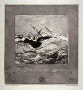 Meer (Sea), plate 3 from Vom Tode, Erster Teil (On Death, Part 1)