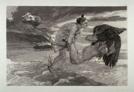 Entführung des Prometheus (The Abduction of Prometheus), plate 24 from Brahms-Phantasie (Brahms Fantasies)