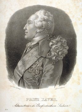 Prince Xaver, Administrator to the Electorate of Saxony