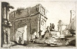 The Arch of Constantine, Rome, from the series 'Prints in Imitation of Drawings'
