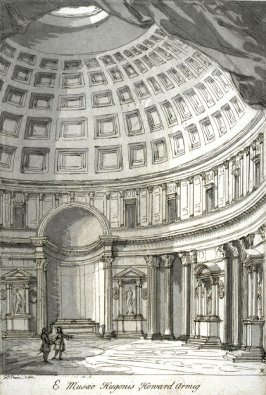 The Pantheon, Rome, from the series 'Prints in Imitation of Drawings'