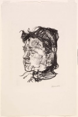 Romana Kokoschka (Die Mutter des Künstlers) (Romana Kokoschka [The Mother of the Artist])