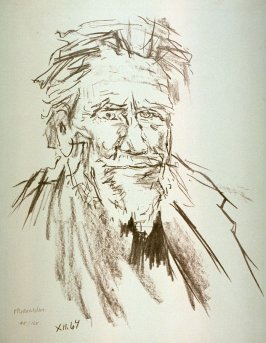 Portrait of Ezra Pound