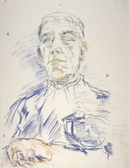 Selbstbildnis (Self-Portrait on his 70th Birthday)