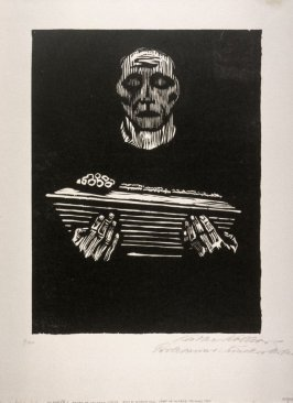 Kindersterben (Children Dying), third plate from the series Proletariat (Working Class)