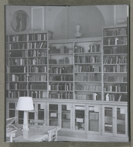 Voltaire Room, Taylor Institution, Oxford University, first illustration in the book Two Oxford Reading Rooms by Joseph Kosuth (London: Book Works, 1994)